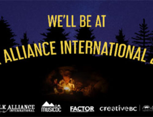 We'll Be At Folk Alliance International