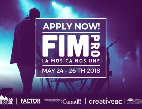 APPLY NOW FOR MUSIC BC'S MISSION TO FIMPRO 2018