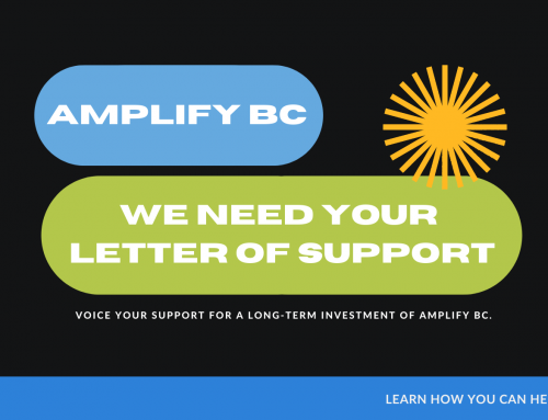 Amplify BC Fund Renewal 2021: We need your help!