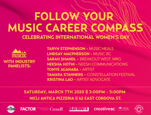 Follow Your Music Career Compass – Celebrating International Women's Day