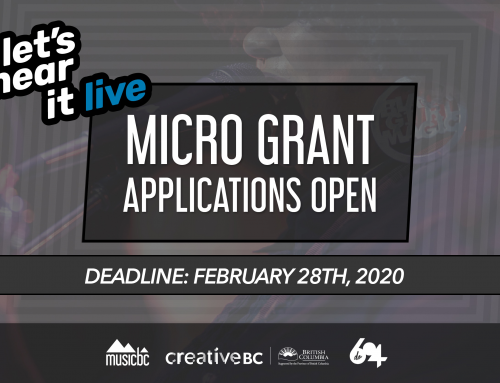 Micro Grant Applications Now Open