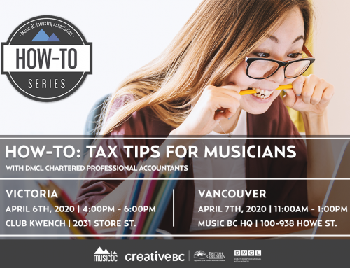 How-To: Tax Tips for Musicians Returns!