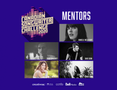 Canadian Songwriter Challenge 2020 Applications Close This Sunday