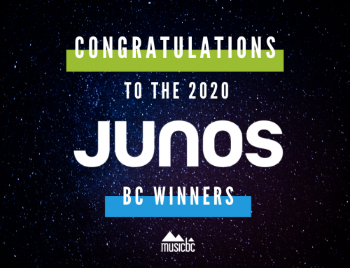 Congratulations to British Columbia 2020 JUNO Awards Winners!