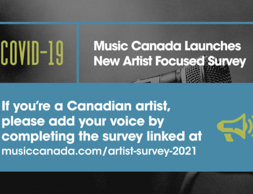 Music Canada Launches New Artist Focused Survey